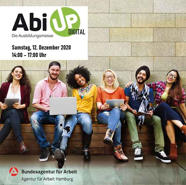 Die Abiturientenmesse AbiUp bietet dir alle Infos zur Berufsausbildung.