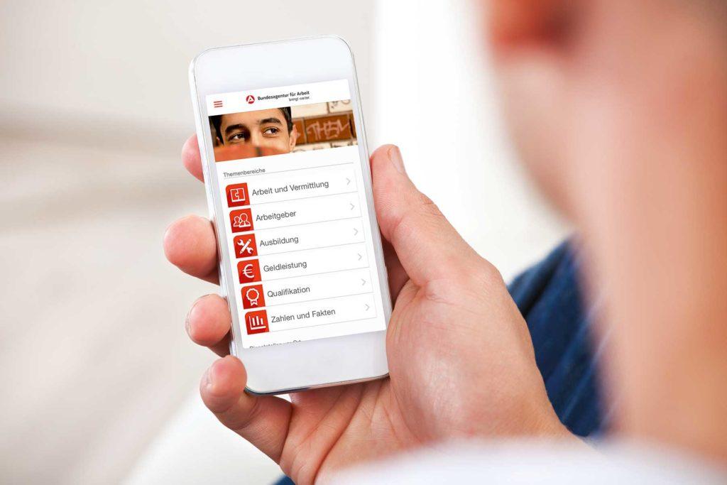 online arbeitslos melden mit dem Selfie-Ident-Verfahren